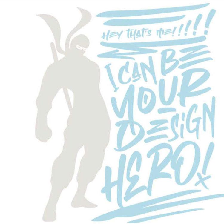 design hero, ninja, wendigo graphics